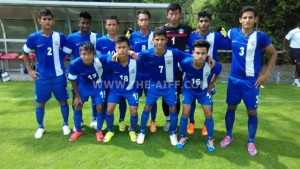 India U16s v FSV Frankfurt