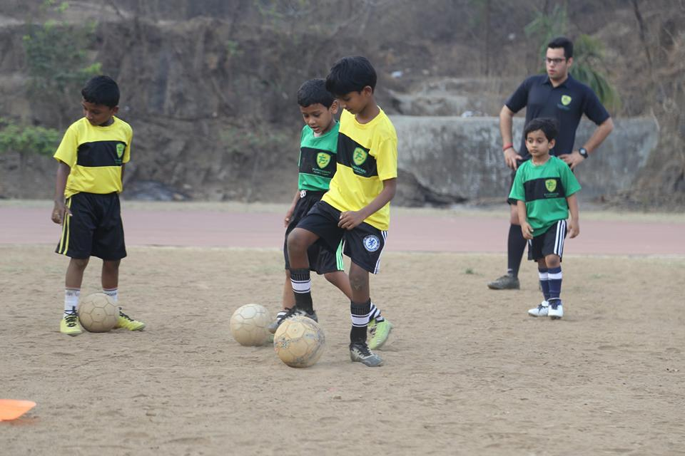 Boys Training at FSFA