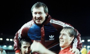 Alex Ferguson at Aberdeen