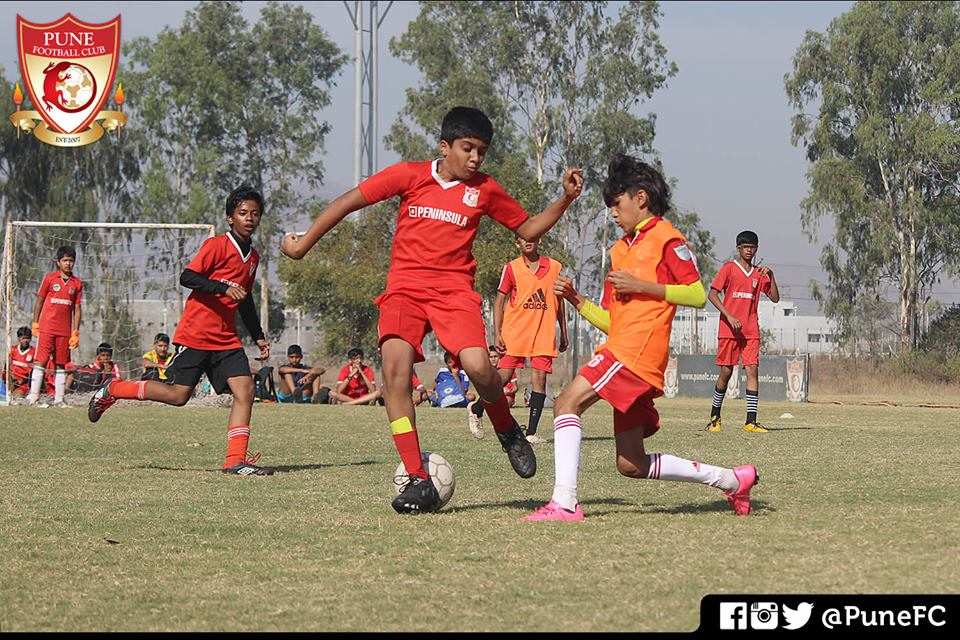 Pune FC Boys in Action