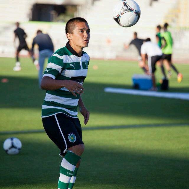 Chhetri at Sporting Lisbon