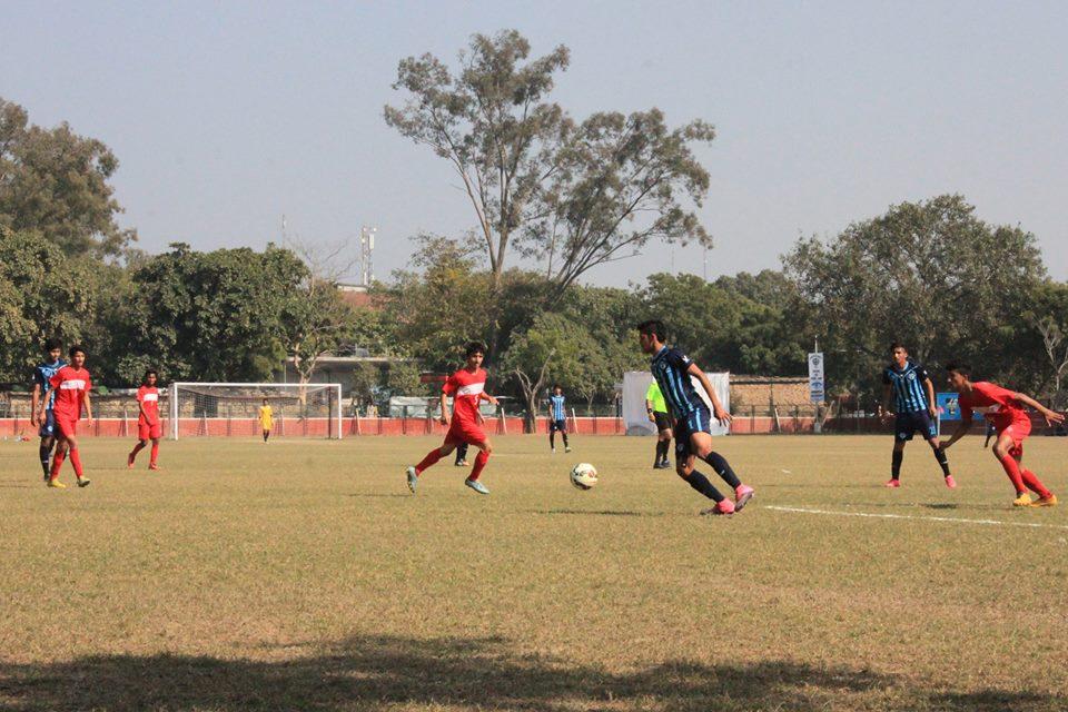 Minerva Academy FC plays BBFS