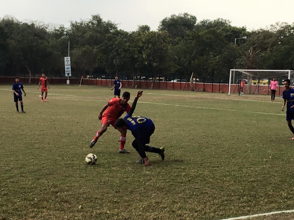Minerva Academy FC plays Lonestar Kashmir