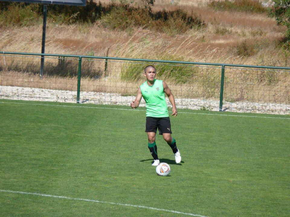 Sunil Chhetri Sporting Lisbon