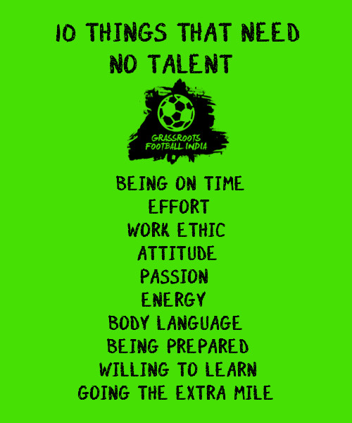10 Things That Need No Talent