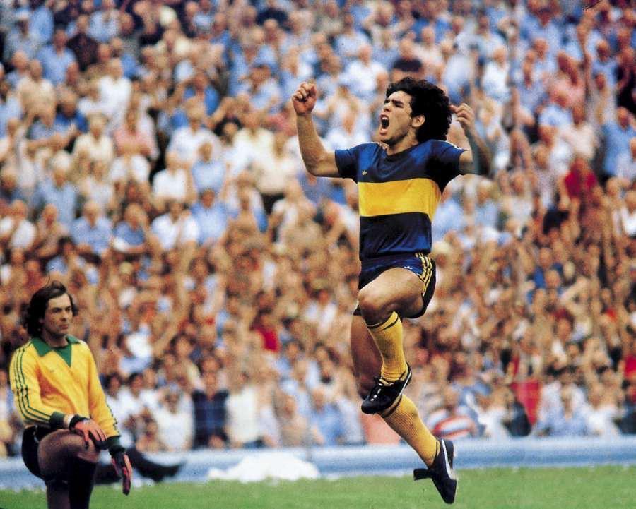 Maradona at Boca