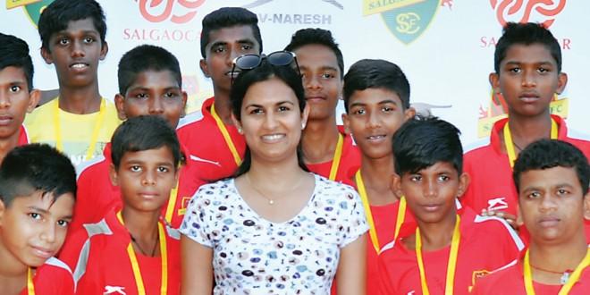 Swati Salgaocar and Youth
