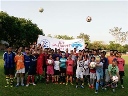 Minvera AFC Grassroots Football Day