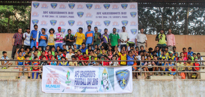 Mumbai AFC Grassroots Football Day