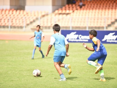 BFC Soccer School Match